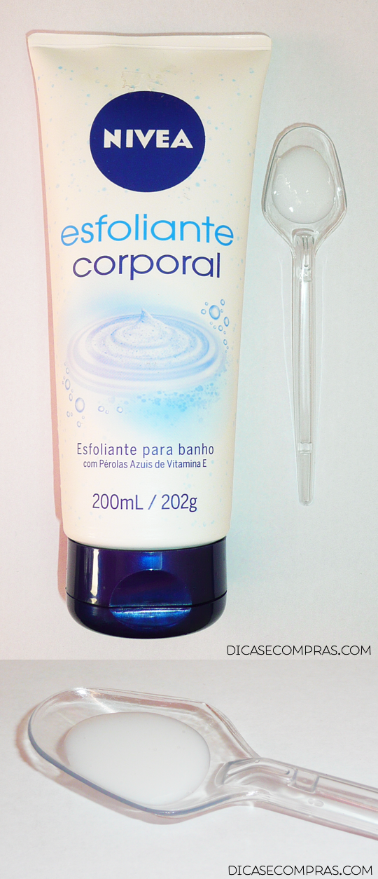 Resenha: Esfoliante corporal para banho NIVEA