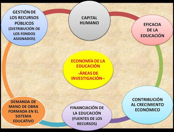ÁREAS DE INVESTIGACIÓN DE LA ECONOMÍA DE LA EDUCACIÓN