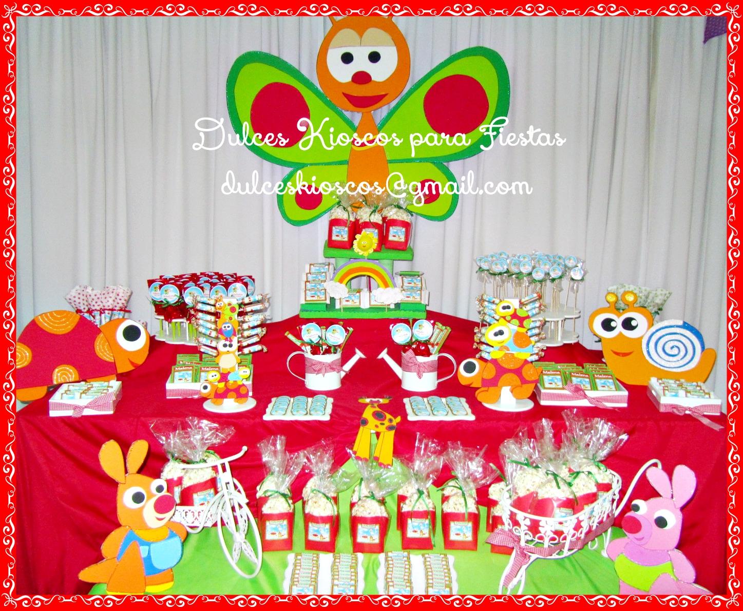 Decoracion Kiosco Golosinas ~ Candy Bar Golosinas Personalizadas Souvenirs Mesas Dulces  LZK