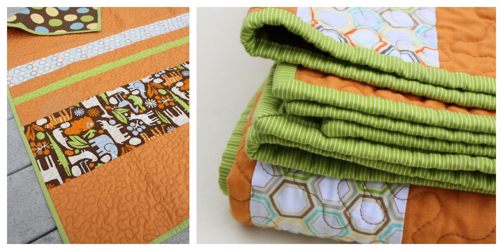 Quick and Easy Baby Quilt tutorial - Diary of a Quilter - a quilt blog : quick and easy baby quilts - Adamdwight.com