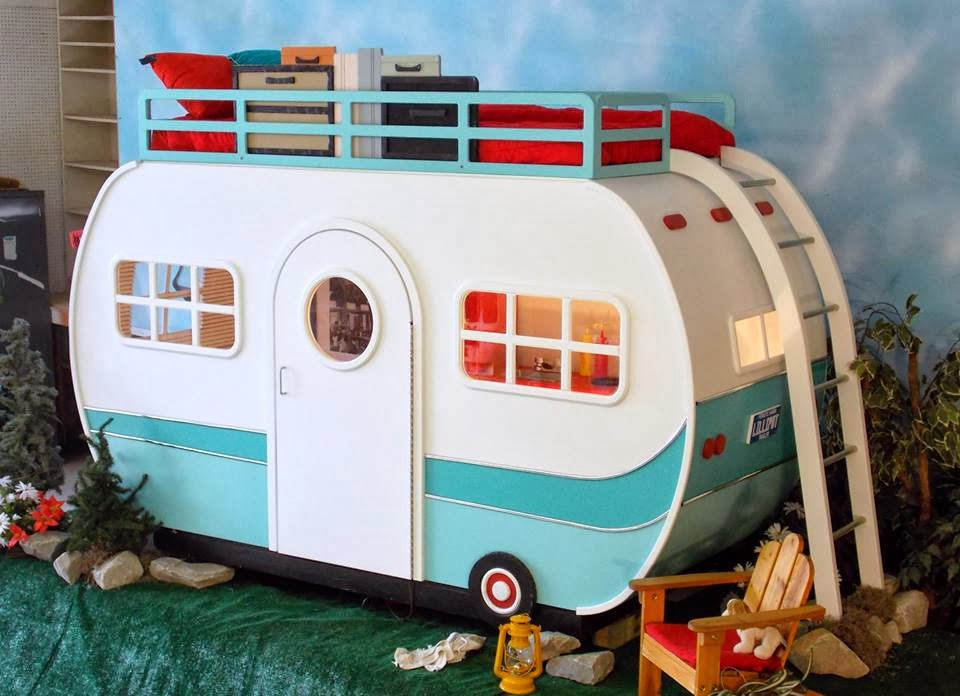 Cool Hybrid Campers With Bunk Beds  Home Design Ideas