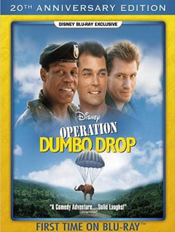 Operation Dumbo Drop 1995 Dual Audio Hindi 720p BluRay 850mb