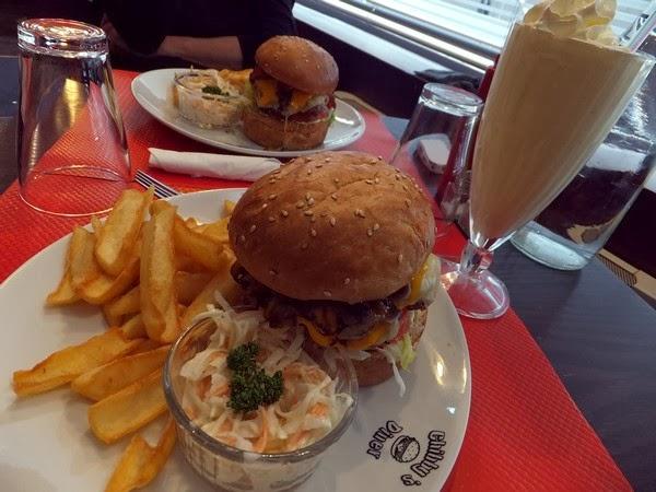 Paris restaurant burger chibby's diner