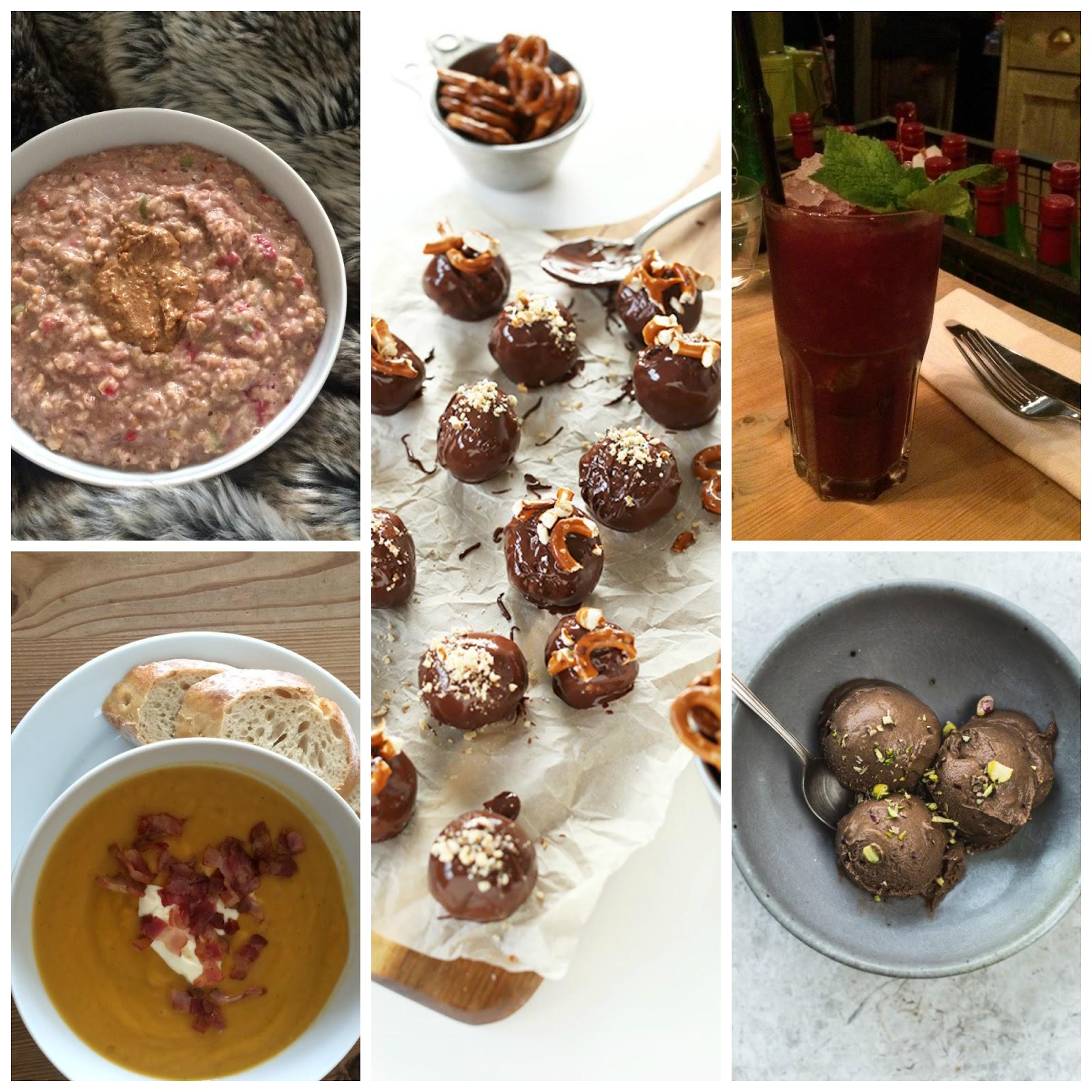 she's so lucy weekly loves minimalist baker peanut butter pretzel truffles bill's blackberry mojito roast carrot sweet potato soup