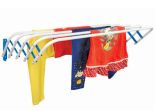 Pepperfry : Buy Deneb Tulip Iron 60 CM Clothes Dryer and get at 70% OFF with Extra 30% Cashback – Buytoearn