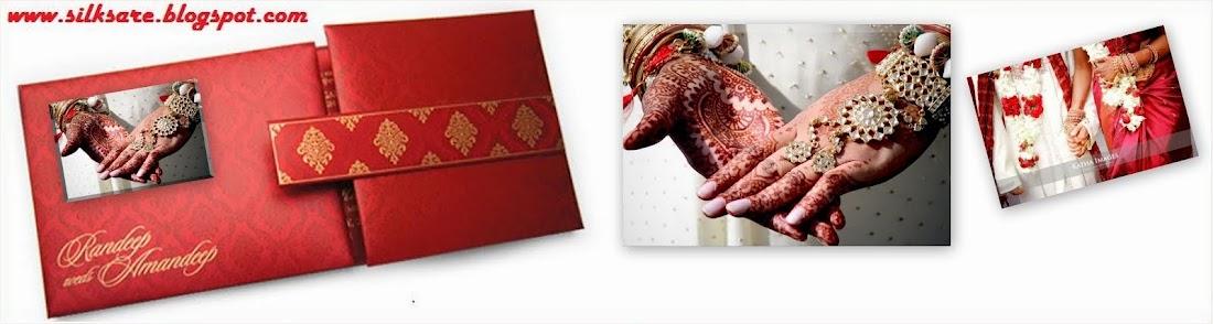 LATEST INDIAN WEDDING SILK SAREE,JEWELLERY,WEDDING HAIR STYLE