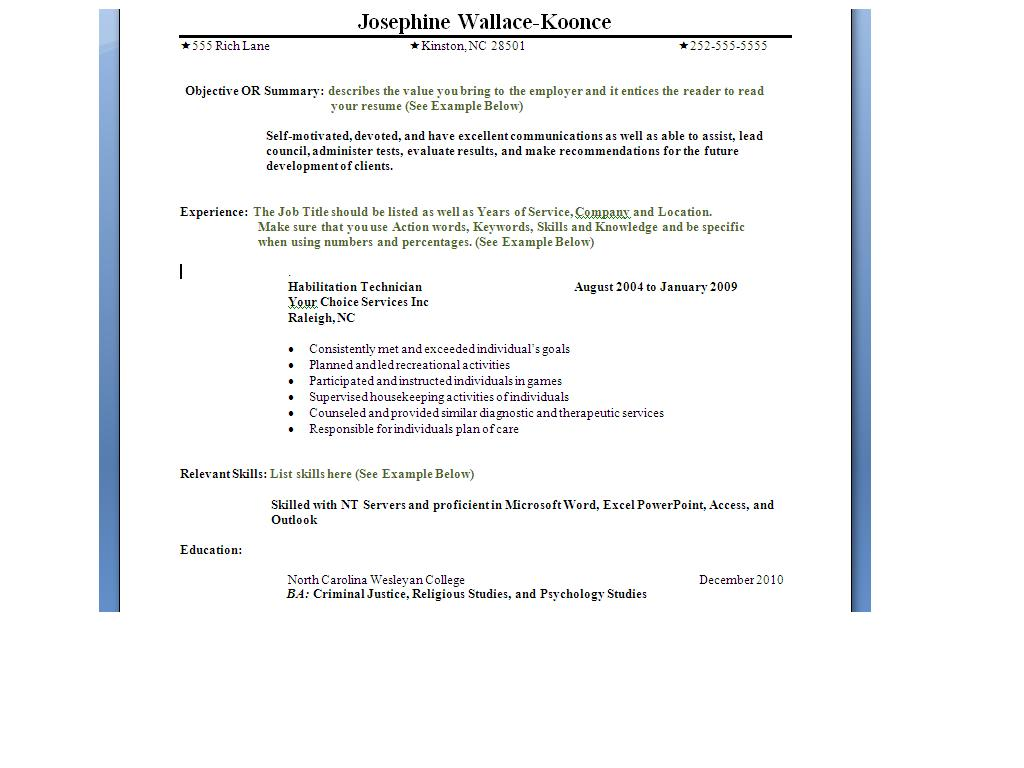 resume chronological chronological resume resume chronological 1733
