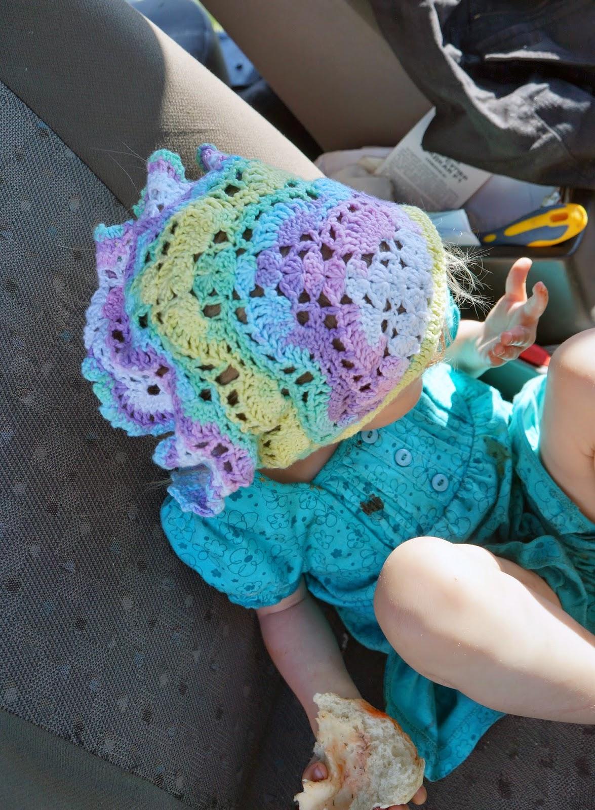 косынка вязанная из Alize bella схема