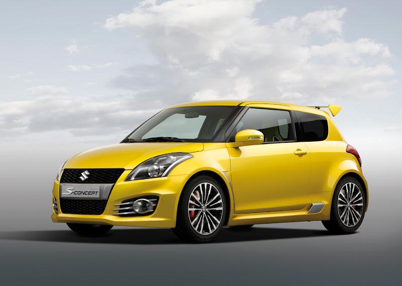 Suzuki memamerkan Swift S-Concept pada 2011 di Geneva Motor Show. S  title=