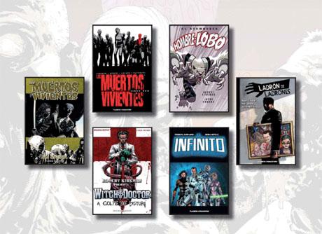 títulos Skybound publicados en España