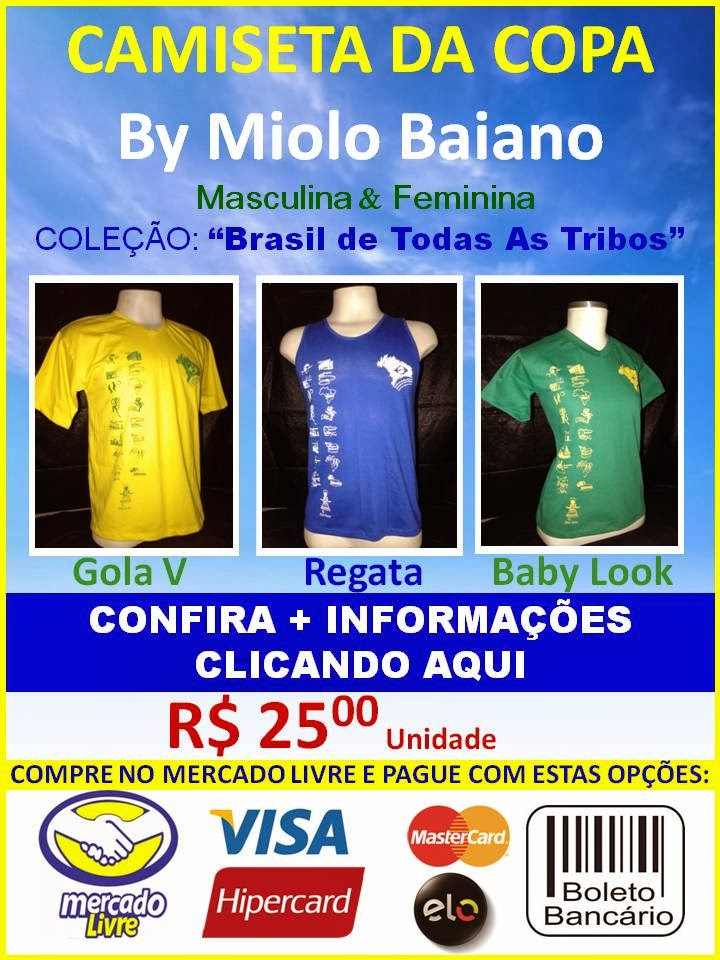 CAMISETA by MIOLO BAIANO