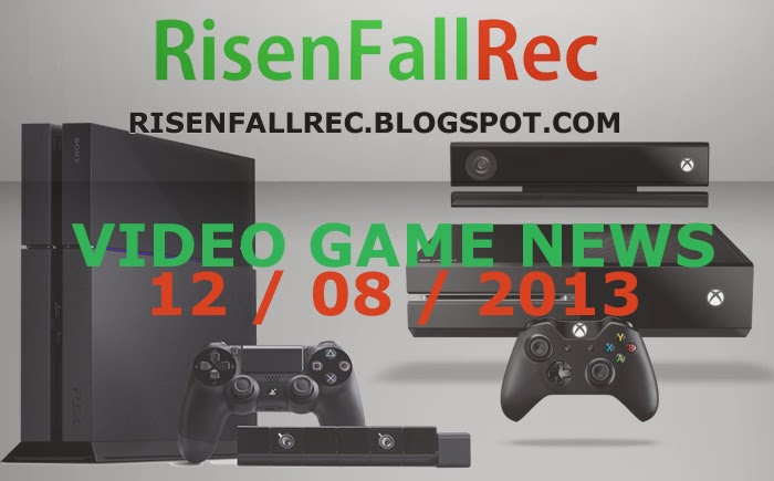 Top Daily Video Game News 12 08 2013