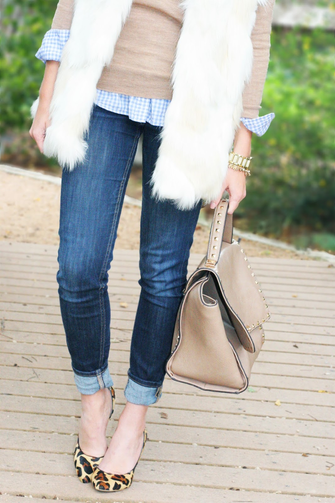 winter-layers-fur-vest-and-neutrals