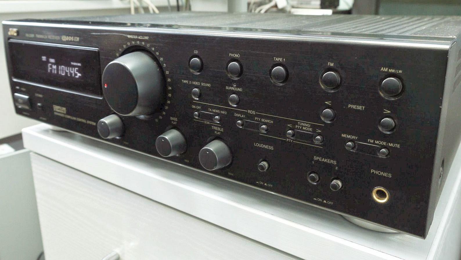 Jvc Rx 230r Stereo Receiver Audiobaza