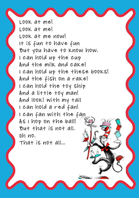 Dr.seuss Poems Cat In The Hat As dr. seuss knew.