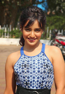 Actress Neha Sharma Pictures in Long Dress On The Sets Of Nandini  2.jpg