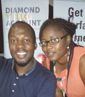 Christina with Lanre Aina (Googlemaster, Nigeria)