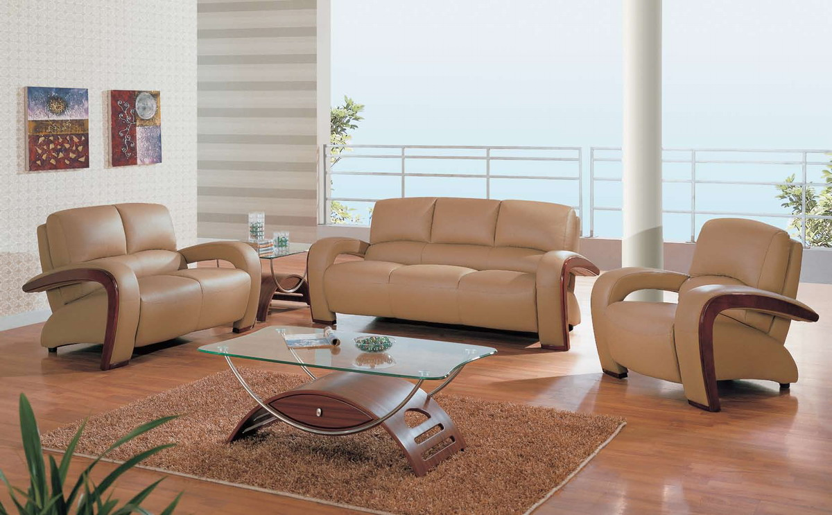 Interior Design With Leather Furniture ~ Latest leather sofa set designs an interior design
