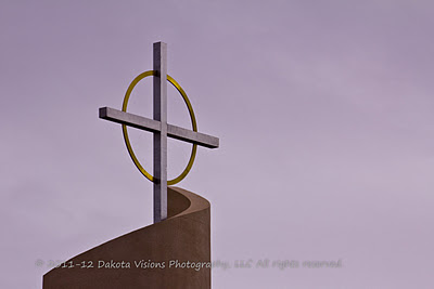 Church Cross by Dakota Visions Photography LLC
