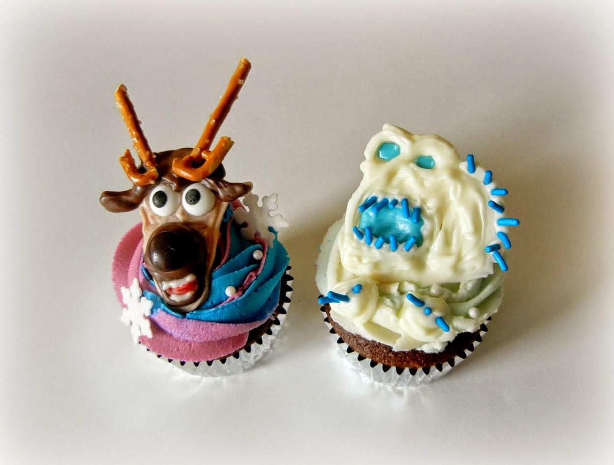 Cupcakes de Frozen, parte 2