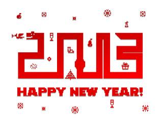 Logo Ucapan Tahun Baru 2013
