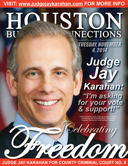 JUDGE JAY KARAHAN IS SEEKING YOUR VOTE IN THE 2014 MIDTERMS