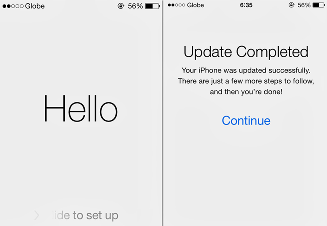 Downgrade IOS 7.1 to 7.0.4 Complete
