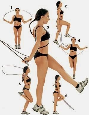 Exercícios para emagrecer ráoido