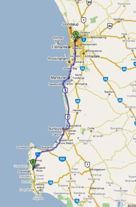 Margaret River Wine Regio Australia  City pictures : ... wine tour che ci porterà alla scoperta di 5 cantine Margaret River