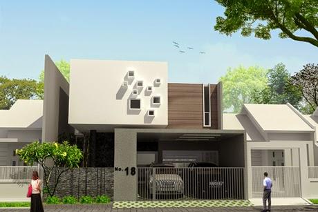 10 Desain Rumah bentuk Kotak Kubus Gambar 9 & 10 Desain Rumah bentuk Kotak Kubus | Griya Inspiratif