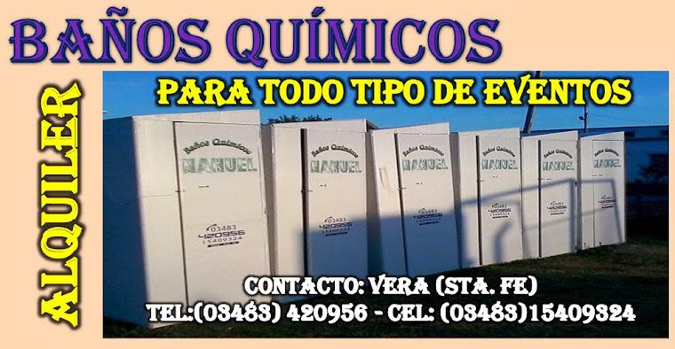BAÑOS QUIMICOS-ALQUILER