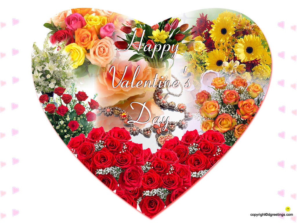 Galeria detatu valentines day hearts - Valentine s day flower wallpaper ...