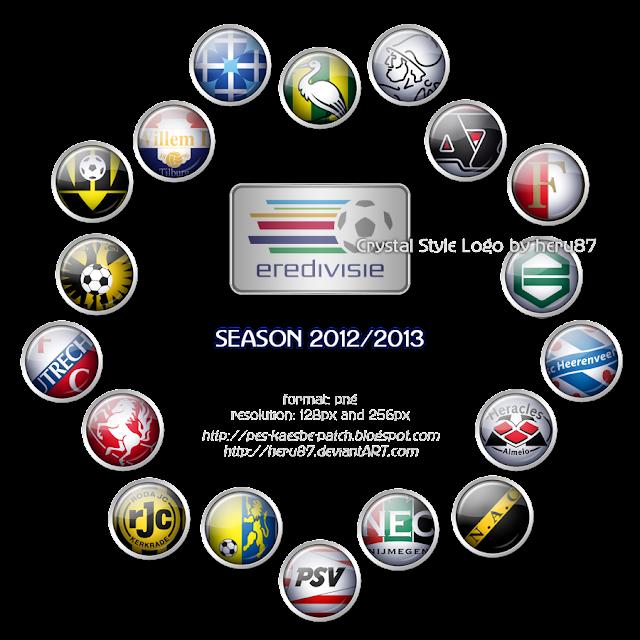 eredivisie team logos