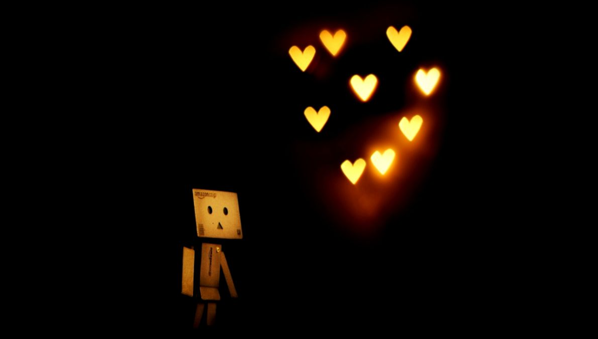Danbo Love Lamp HD Wallpaper 4888 Wallpaper