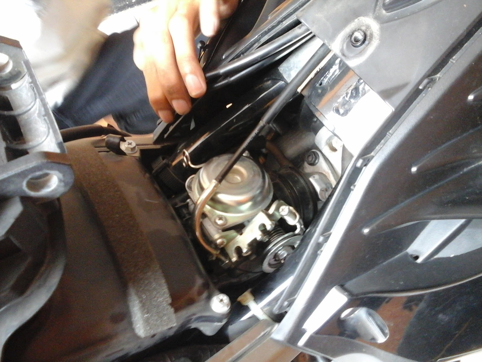 Cara Membersikan Karbu Pada Motor Yamaha New Jupiter Mx 135
