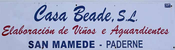 CASA BEADE S.L.