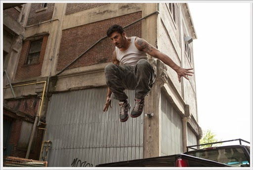 Film Review - Brick Mansions Lino Dupree Parkour
