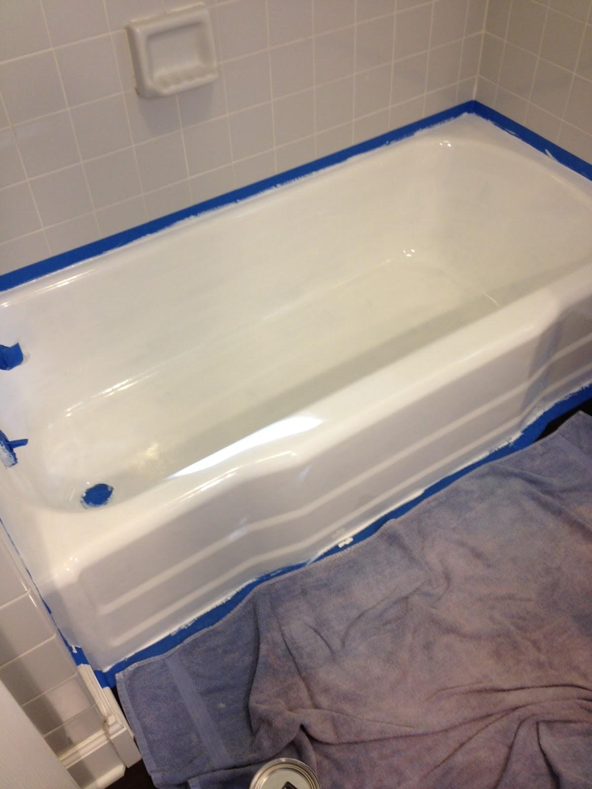 Over on Dover: Refinishing the Bathtub