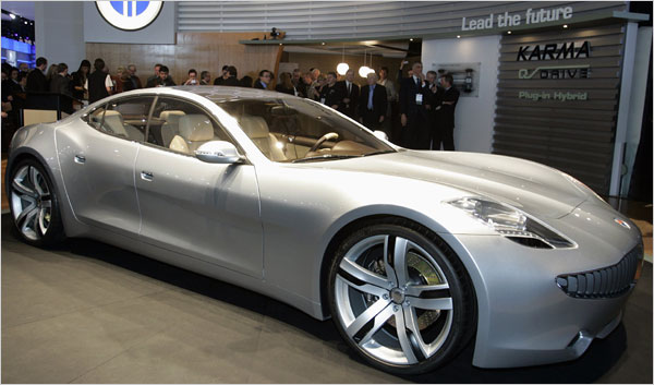 Fisker Karma Photos Prices Reviews Specs The Car Connection