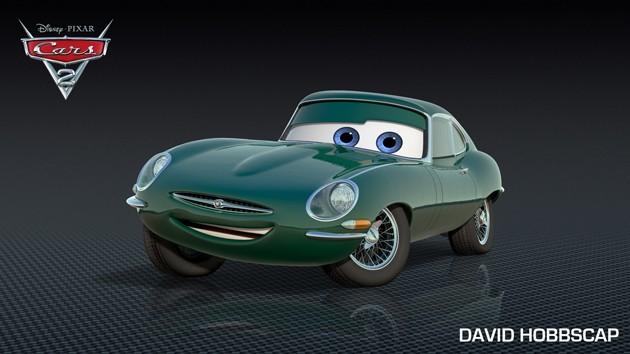 Tamerlanes Thoughts David Hobbs In Pixar Movie Cars 2