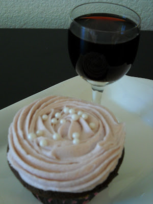 Recipe: Chocolate and Port cupcakes