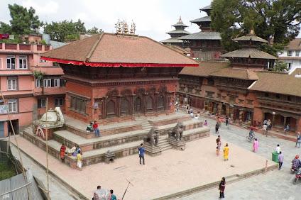 Durbar meydanı Shiva Parvati Tapınağı
