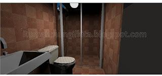 kamar mandi mungil minimalis