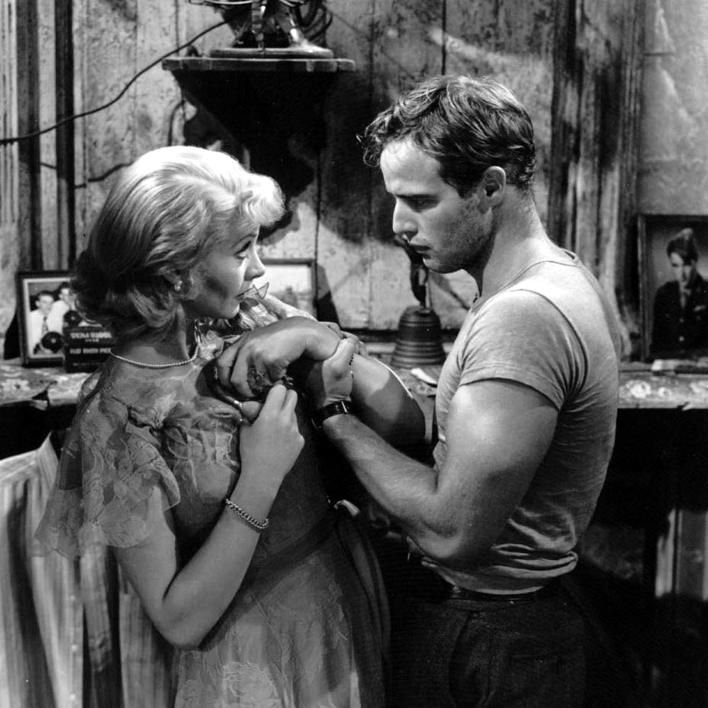 a review of the theme in the movie a streetcar named desire Movie review – a streetcar named desire (1951) by tom nixon when blanche dubois (vivien leigh) hurriedly arrives at her sister stella's (kim hunter) apartment in need of a place to stay, she seems your usual vulnerable beauty, the kind that's shown its face all around hollywood for years.