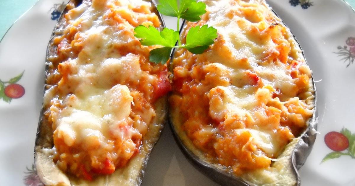 En la cocina berenjenas rellenas de bacalao y anchoas - Berenjenas rellenas de bacalao ...
