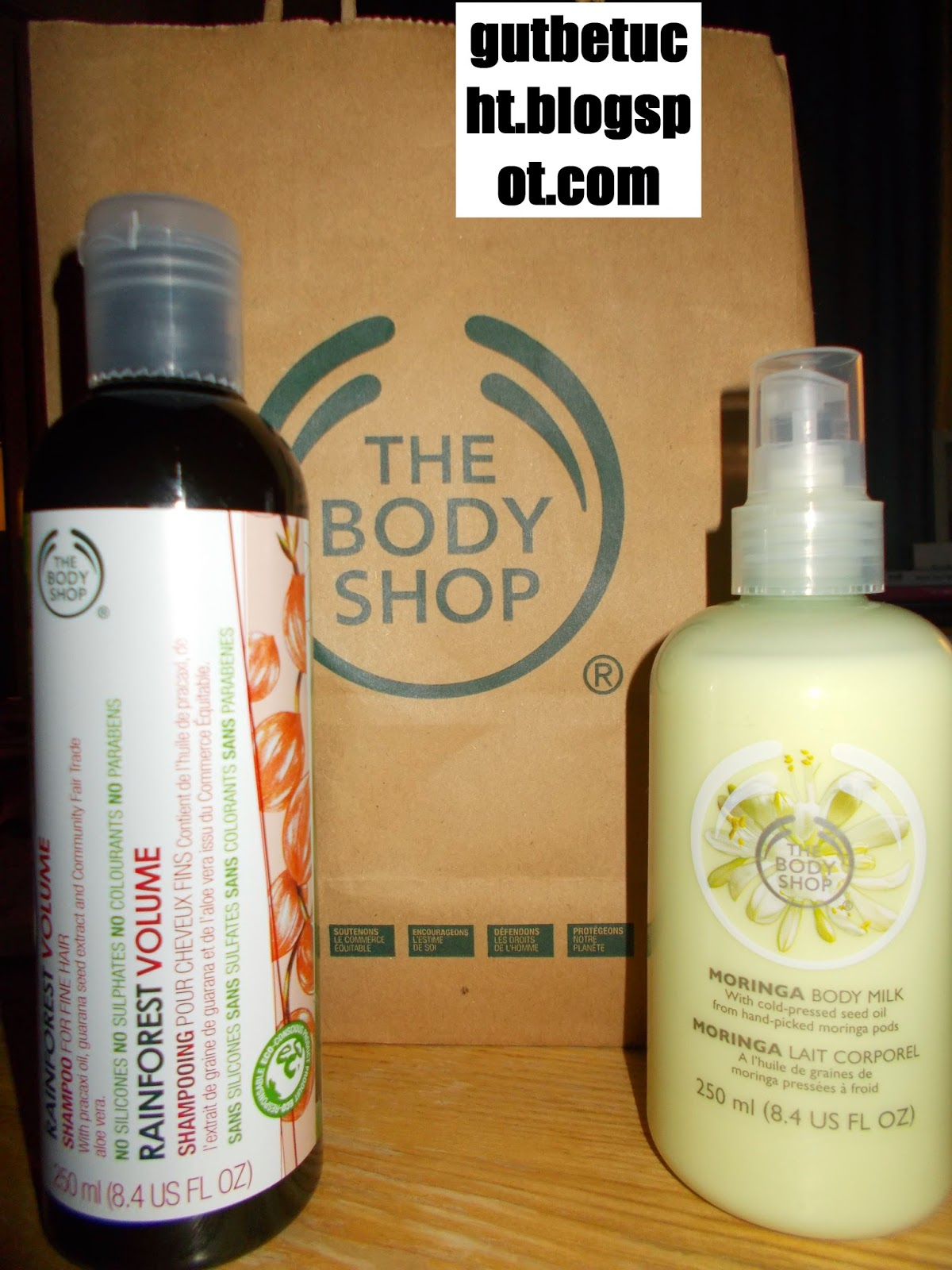gutbetucht review body shop bio fairtrade shampoo review the body shop organic fairtrade. Black Bedroom Furniture Sets. Home Design Ideas