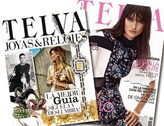Regalos revistas Noviembre 2014: Telva