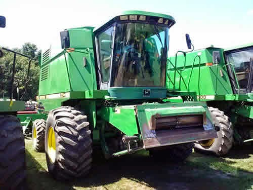 John Deere 9500 combine parts