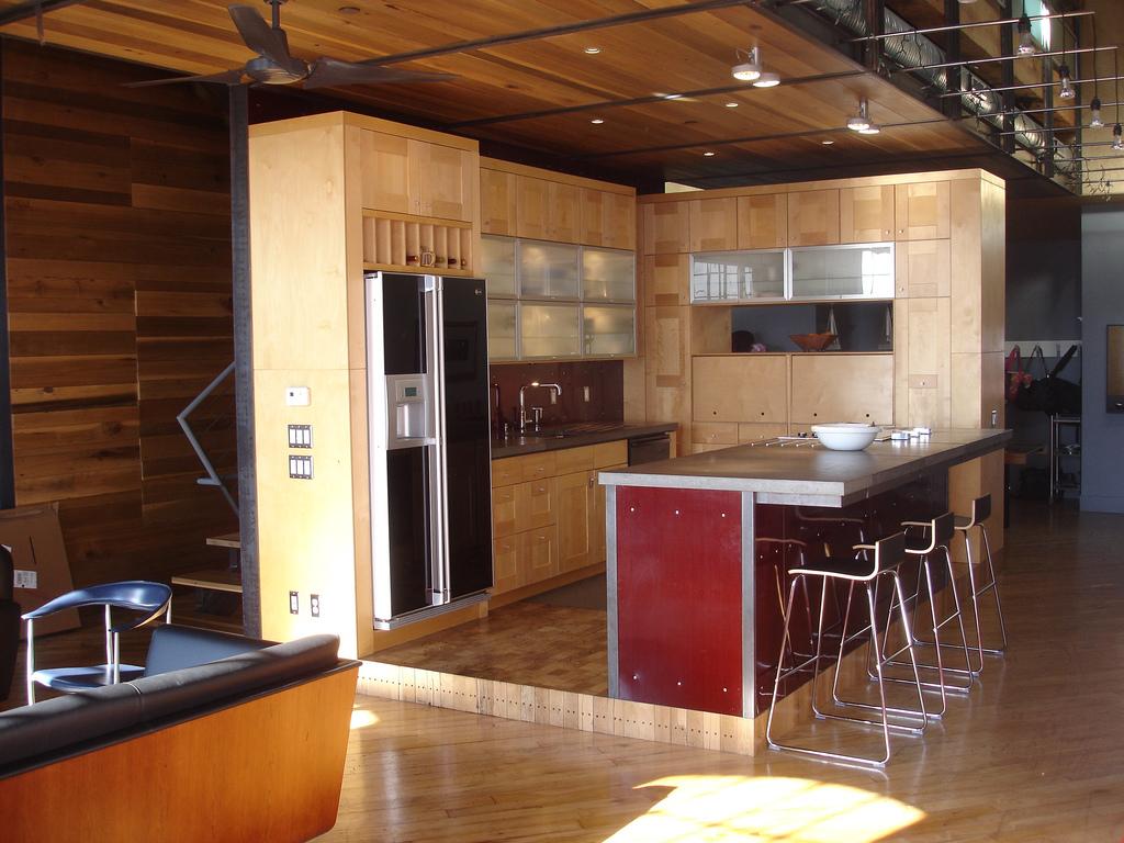 Kitchen Open Interior Designs