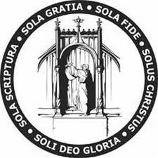 """Sola scriptura, Sola gratia, Sola fide, Soli Deo gloria, Solus Christus"""